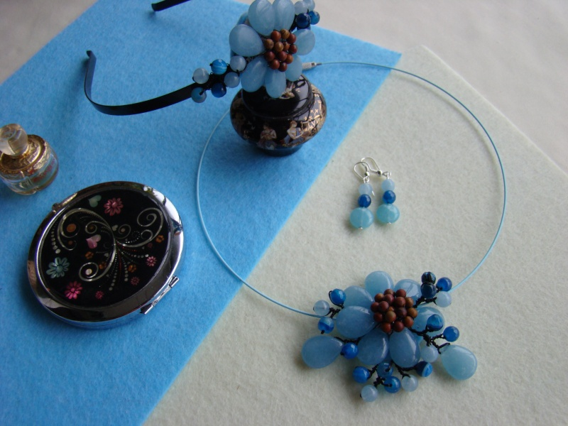 """""""Flori de piatră-Bijoux"""" albumul I-bijuterii artizanale marca Didina Sava - Pagina 13 Colier95"""
