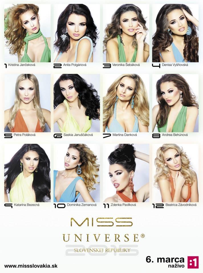 Road to Miss Universe Slovak Republic 2015 10015110
