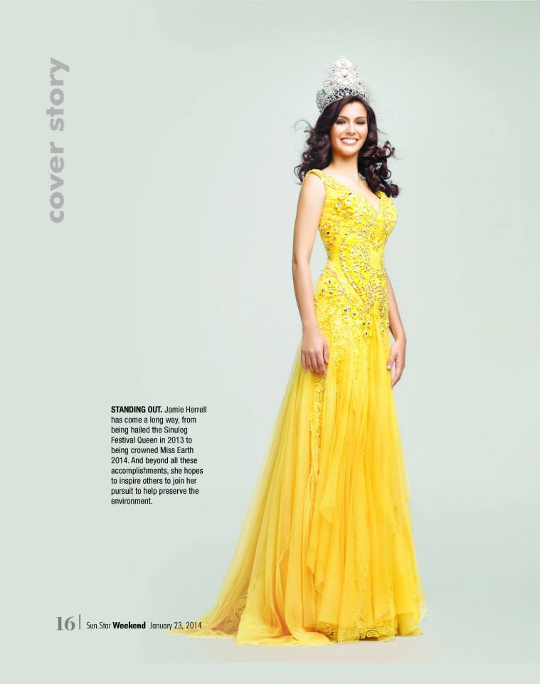 The Official Thread of MISS EARTH® 2014 Jamie Herrell, Philippines 10806412