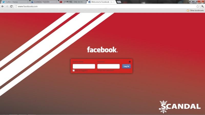 Facebook log-in background. Untitl10