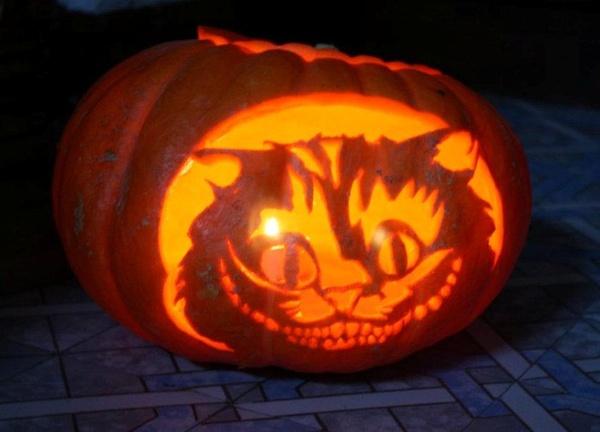 Modèle gravure potiron Halloween 2012 - Maléfique 13299611