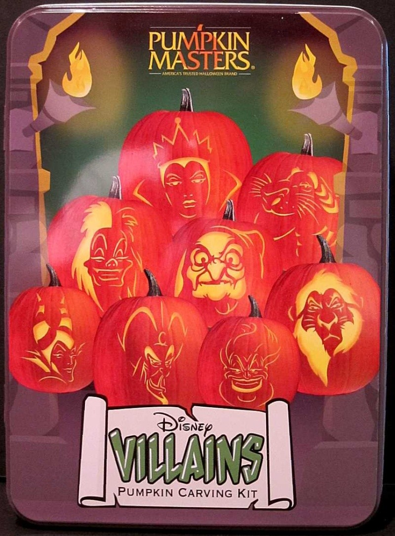 Modèle gravure potiron Halloween 2012 - Maléfique Disney10