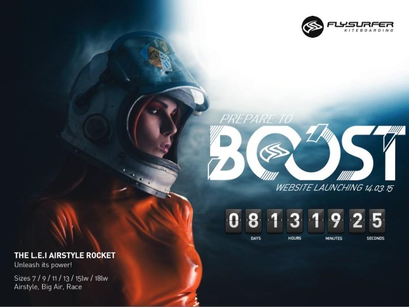 Nouvelle Aile gonflable Flysurfer en Approche : La Boost Captur23