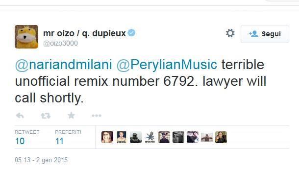Mr Oizo contro Nari & Milani 10454310