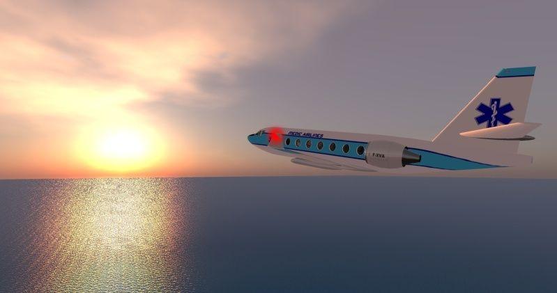 Falcon 2000 Médical  Snapsh16