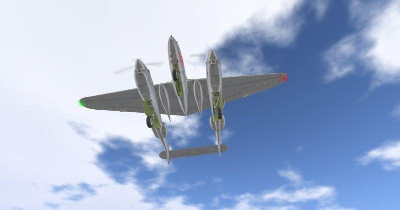 P-38 lightning Photographies Snapsh84