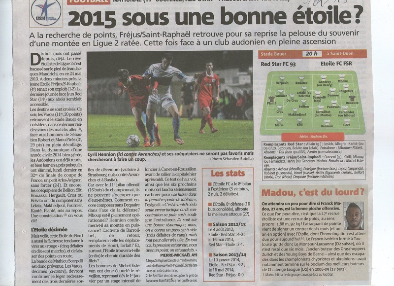 """RED STAR Football Club  L"""" ETOILE ROUGE PARISIENNE  - Page 9 10896310"""