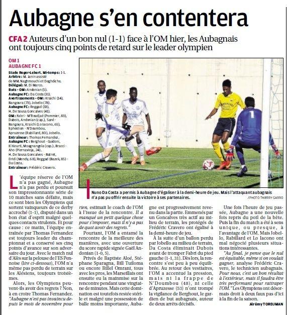 FC AUBAGNE // CFA2 GROUPE SUD EST  G - Page 21 213