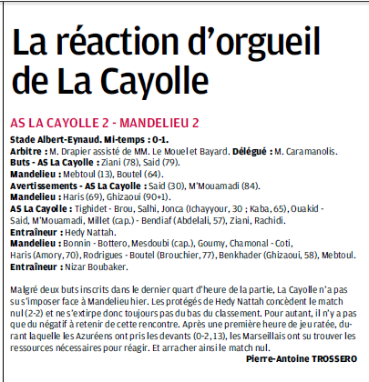 SCOC LA CAYOLLE // DHR - Page 19 310