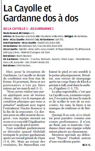 SCOC LA CAYOLLE // DHR - Page 20 315