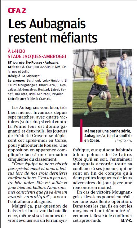 FC AUBAGNE // CFA2 GROUPE SUD EST  G - Page 20 513