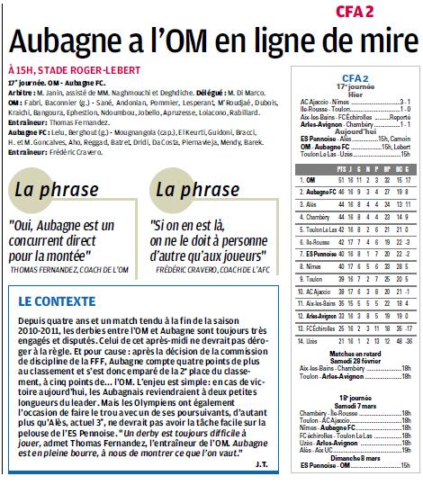 FC AUBAGNE // CFA2 GROUPE SUD EST  G - Page 21 519