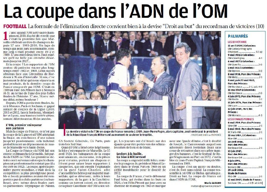 """LA CAVERNE DES TROPHEES DE L""""OM - Page 27 8b11"""