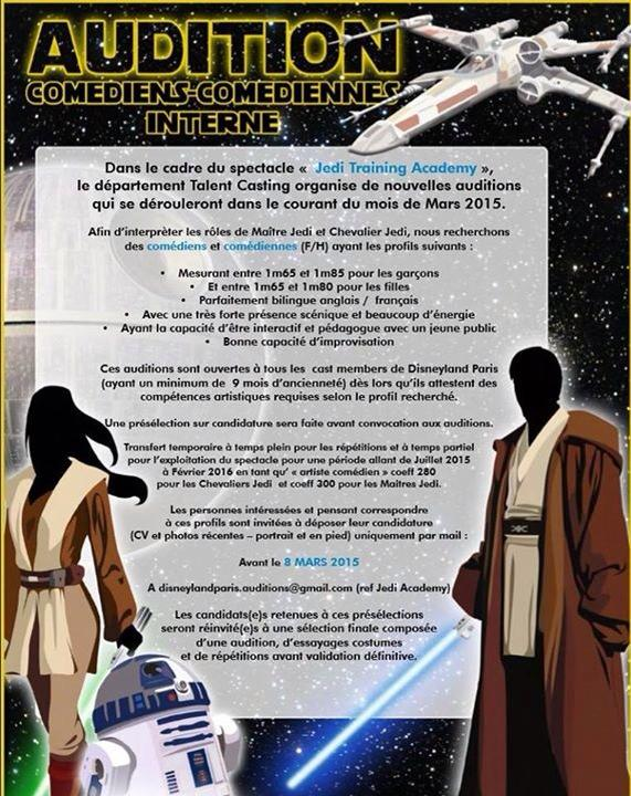 Jedi Training Academy à Vidéopolis 8cae2810