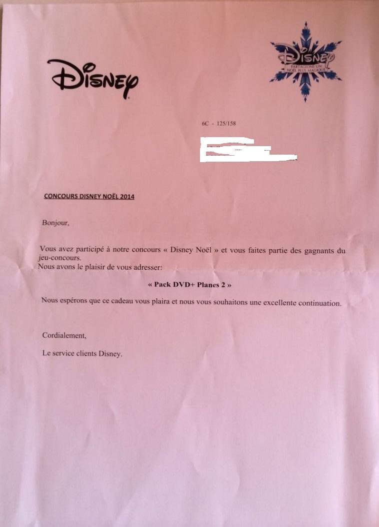 [Noël Disney] Grand concours : votre ticket de caisse est-il magique ? Hqetdx10