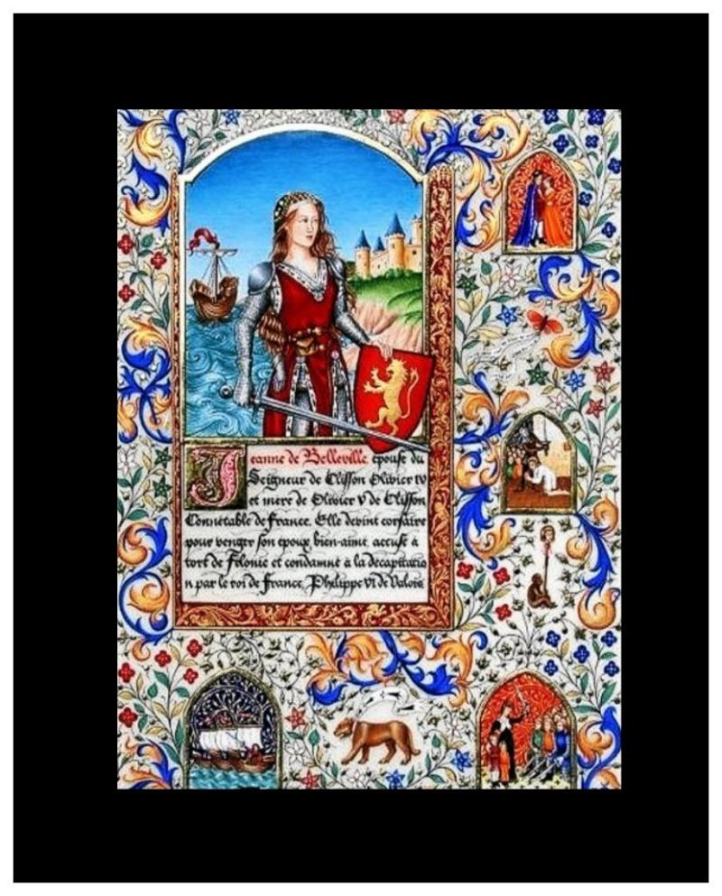 Jeanne de Belleville, la tigresse bretonne : 166
