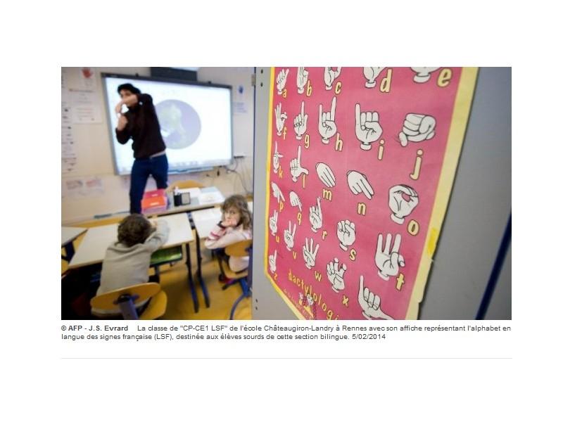 Enfants sourds : le monde du silence et des signes dans une classe bilingue à Rennes Sans_109