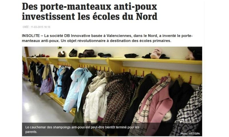 Des porte-manteaux anti-poux investissent les écoles du Nord Sans_392