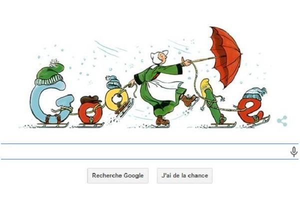 Pour ses 110 ans, Bécassine a les honneurs de Google Sans_t53