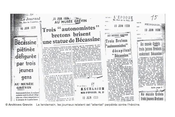 Pour ses 110 ans, Bécassine a les honneurs de Google Sans_t57