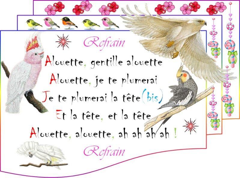 "///أغاني فرنسية للأطفال/// [-_- ""Alouette ""-_-] 013"