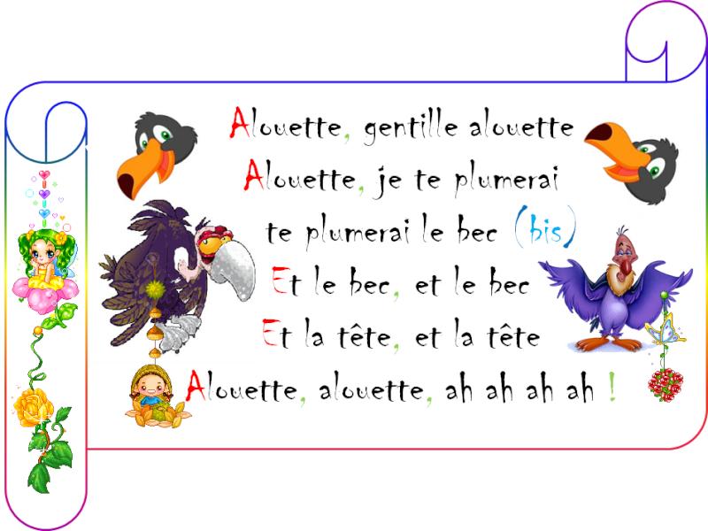 "///أغاني فرنسية للأطفال/// [-_- ""Alouette ""-_-] 113"