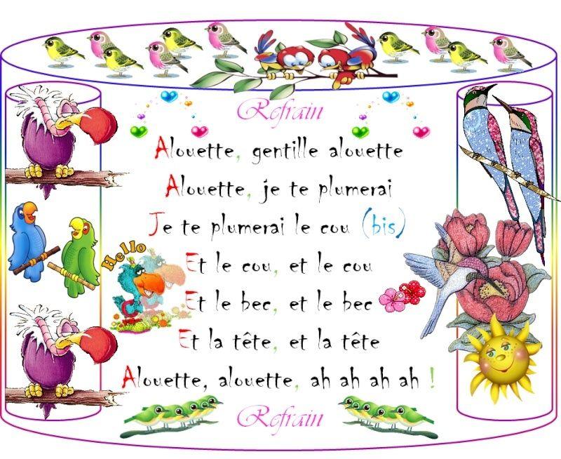 "///أغاني فرنسية للأطفال/// [-_- ""Alouette ""-_-] 210"