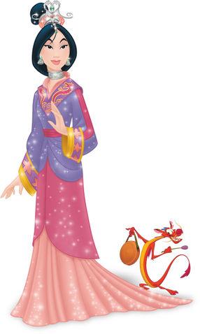 * أحدث وأروع صور اميرات ديزني * * * Disney princess new look * Mulan10