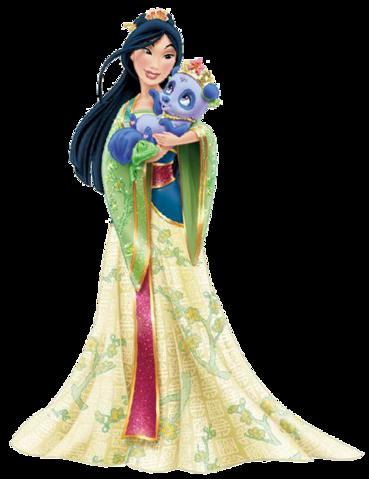 * أحدث وأروع صور اميرات ديزني * * * Disney princess new look * Mulan_10