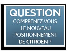 [QUESTION] Positionnement et futur de CITROËN Quest10