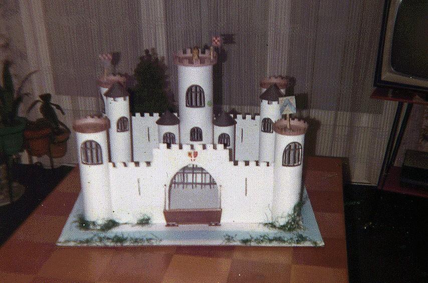 Un chateau-Fort a la CNC Chatea10