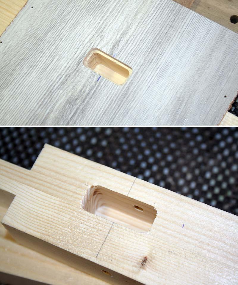 Un petit abris à bois ... et autre Gabari13
