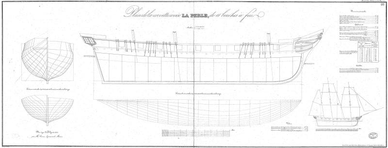 restauration une corvette aviso (1832-1840) 2310