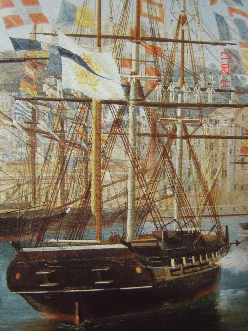 restauration une corvette aviso (1832-1840) Brigan11