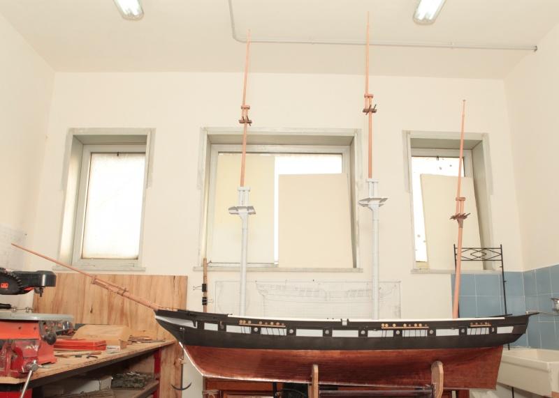 restauration une corvette aviso (1832-1840) - Page 2 Brigan12
