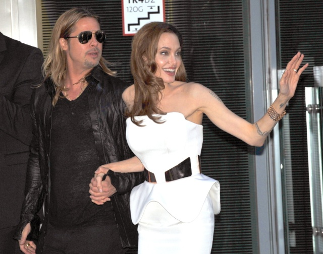 Brad and Angelina at World War Z Premiere, Sony Center..Berlin, Germany..June 4th 2013 - Page 2 00002012