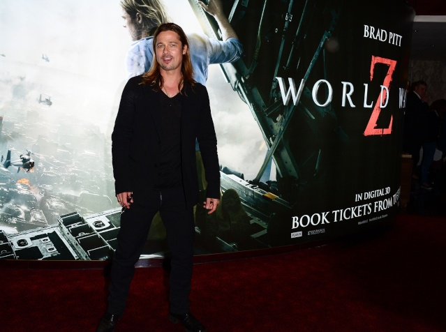 Brad and Angelina at World War Z Premiere..Leicester Square, London..June 2nd, 2013 - Page 4 005_2810