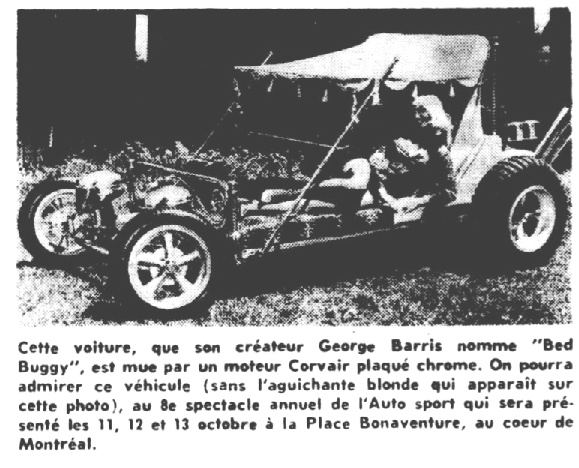 Article de journal sur le Bed Buggy de George Barris Nouvel14