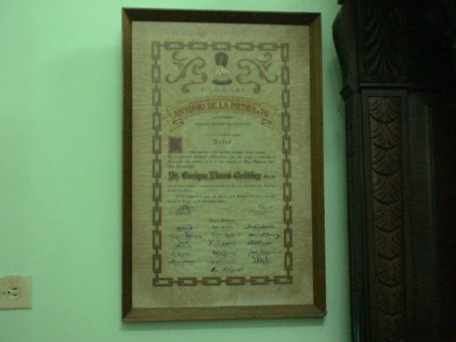Supremo Consejo del Grado 33º para la República de Cuba Su1410
