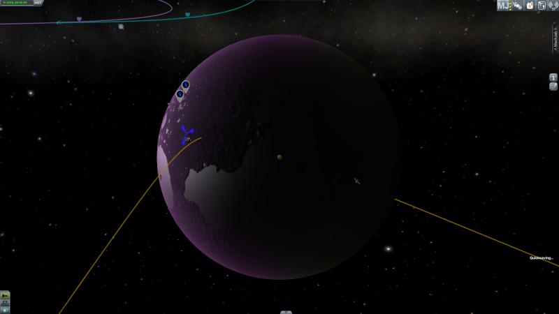 [KSP] Grosse mission vers Eve Screen24