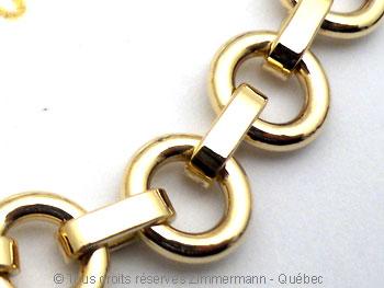Bracelet or '' Héméra '' Brso1611
