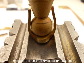 Chevalière or sertie d'un saphir étoilé synthétique Cvoc0113