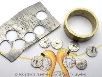 Anneau ajouré, or jaune, palladium, or rose et diamants Joopab11