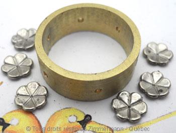 Anneau ajouré, or jaune, palladium, or rose et diamants Joopab12