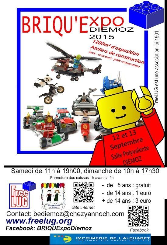 [Expo] Briqu'Expo Diémoz 12 & 13 sept 2015 - Invitation Affich10