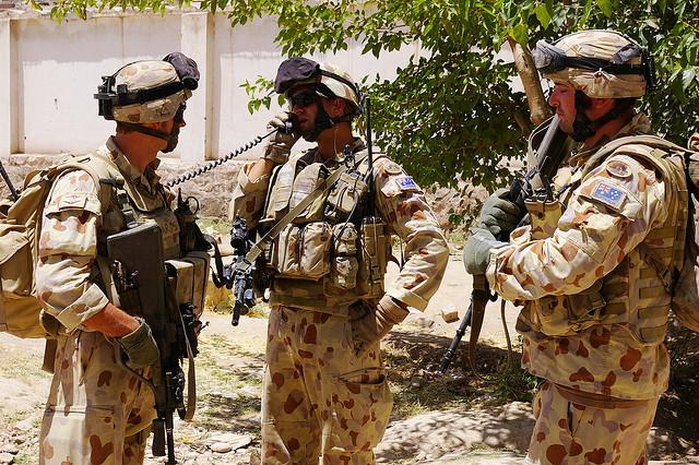 Irak: L'Australie envoie 300 soldats en renfort  Armye-10