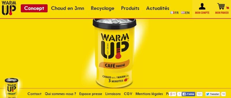Warm UpWarm ( la première boisson chaude de secours) Capt_112