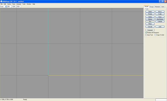 [Débutant] Partie 2 - Créer la base de son mesh avec Milkshape 3D 114