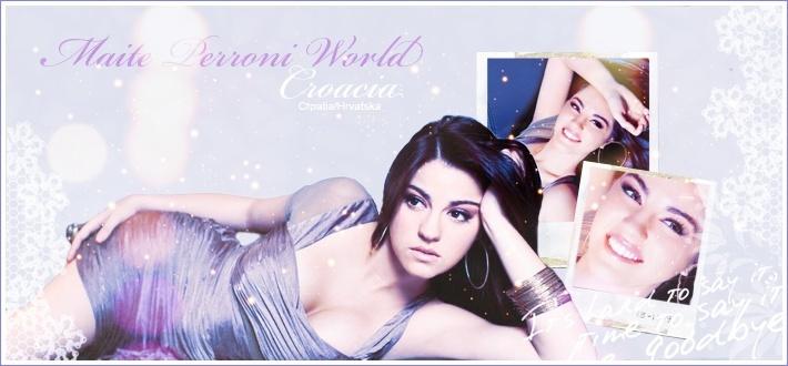Maite Perroni World Croatia