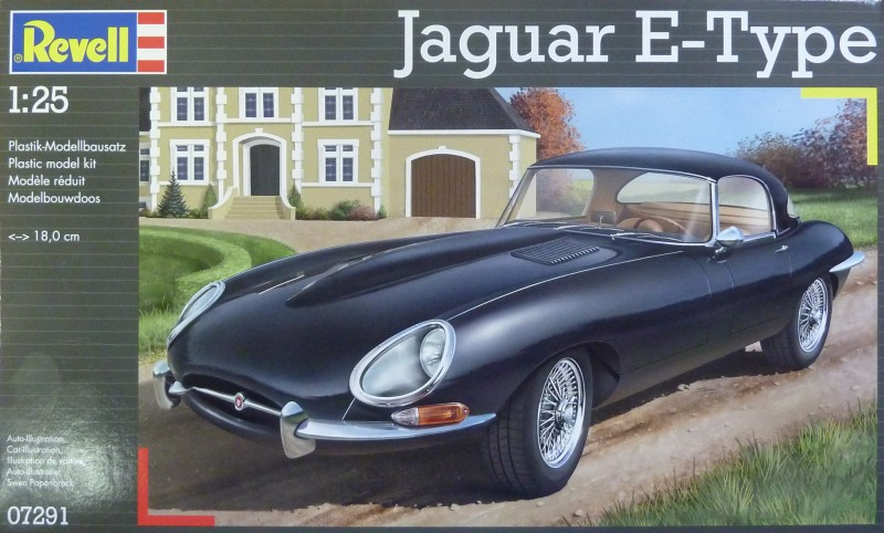 Jaguar Type-E revell germany 07291_10